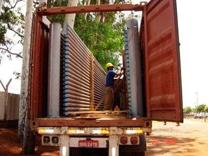 Empresa especializada em estufagem de container