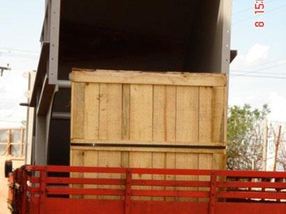 Fábrica de caixas de madeira
