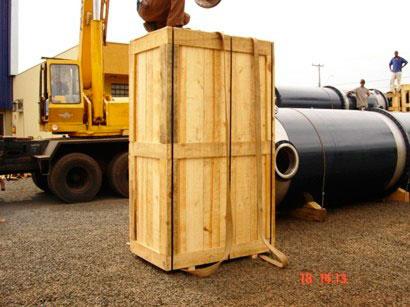 Fábrica de embalagens de madeira