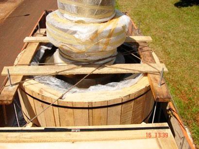 Fornecedor de caixotes de madeira