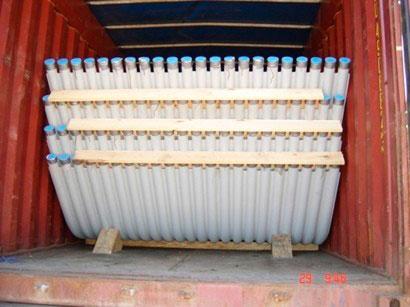 Peação de containers